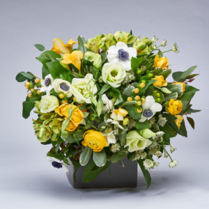 Marie Vermette Florist Cheerful Bouquet of Flowers